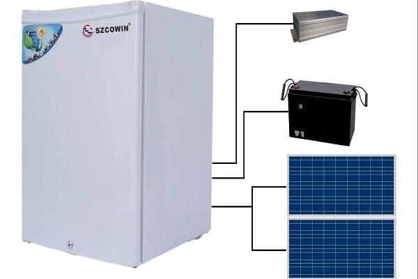 Solar Refrigerator Energy Efficient Appliances