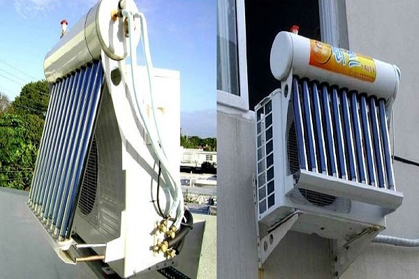 Solar Power Generation by Air Conditioner