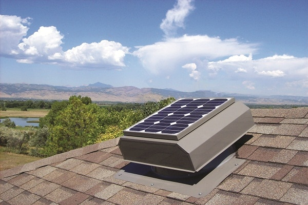 Solar Power Generation For Attic Ventilators