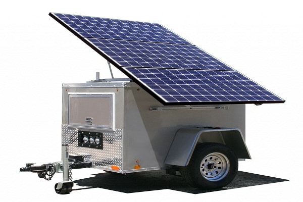 Solar Power Generation by Solar Generators